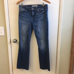 Joe's Jeans Muse with distressed pockets